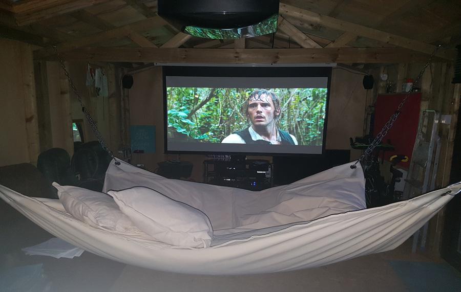 Man Cave Victoria : Hammock beanbag combo contemporary home garden furniture